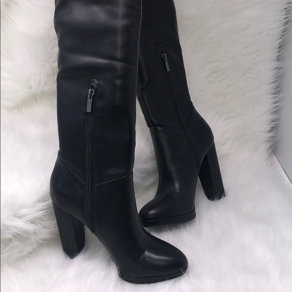 f989368aaf8 NWT Jessica Simpson over the knee Grandie Boots